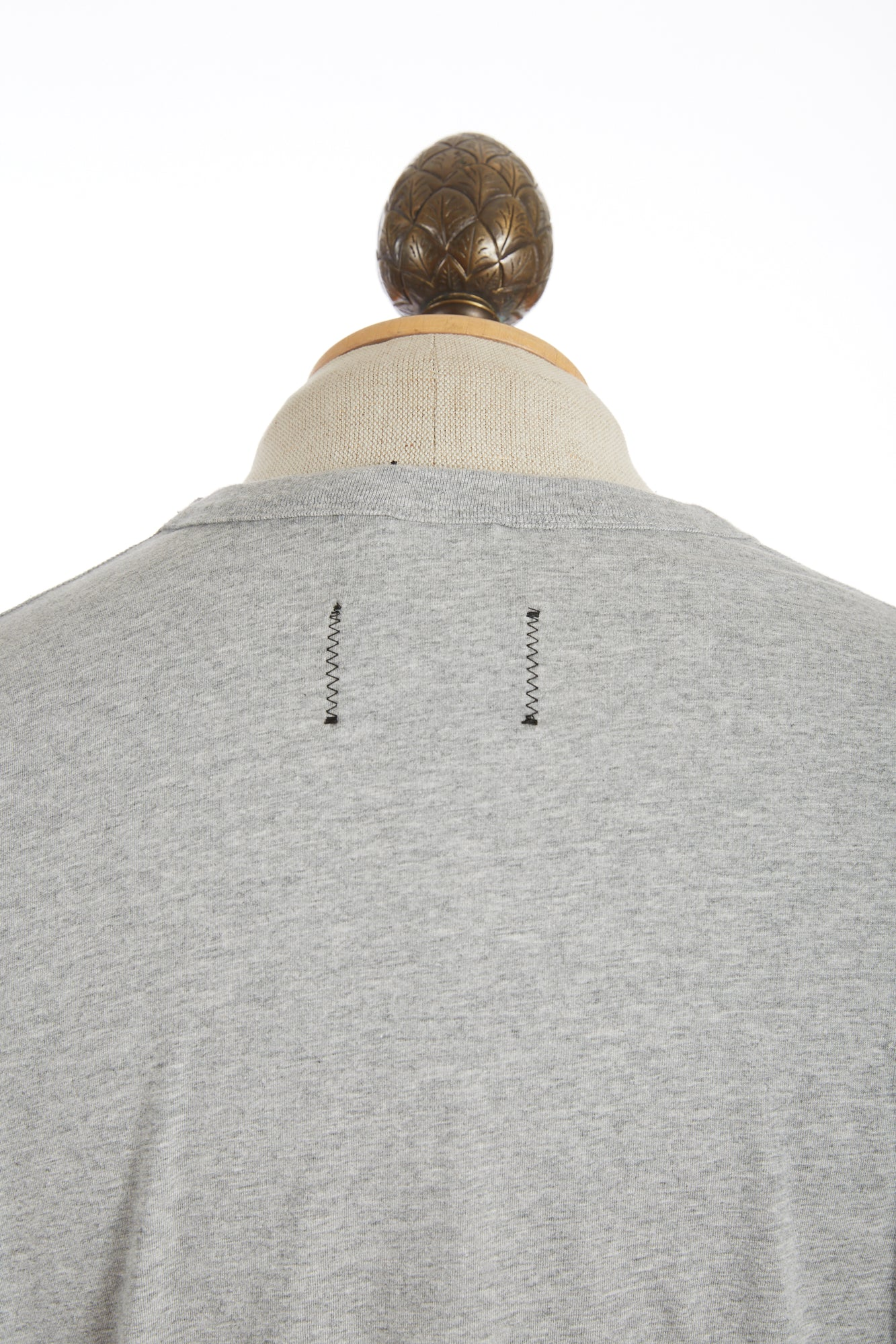 Reigning Champ Grey Cotton Jersey T-Shirt