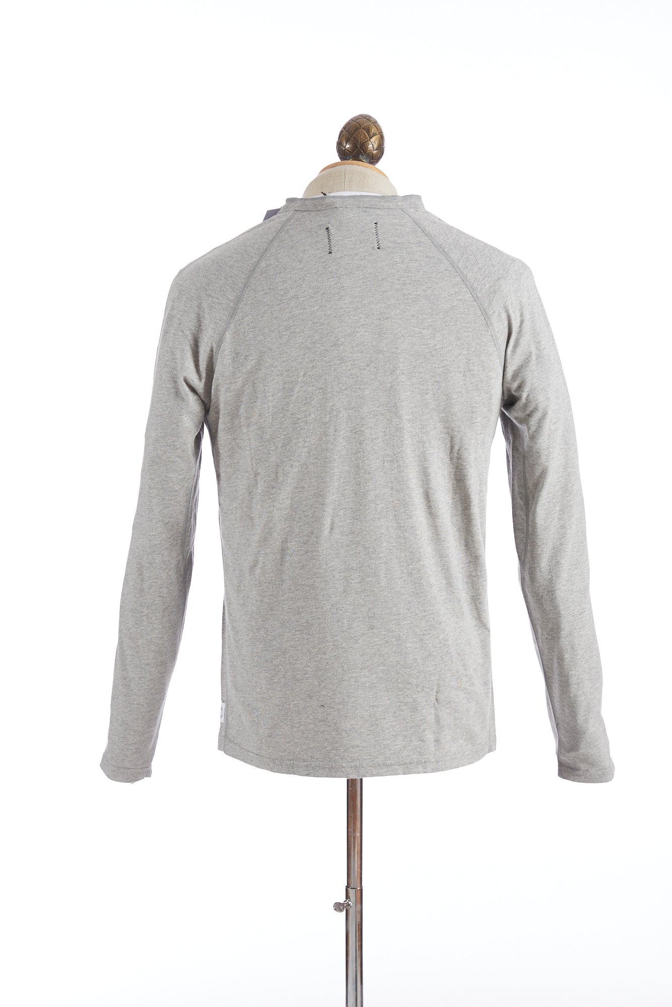 Reigning Champ Grey Long Sleeve Henley