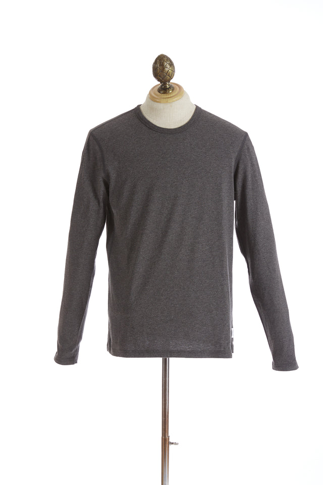 Reigning Champ Grey Long Sleeve T-Shirt