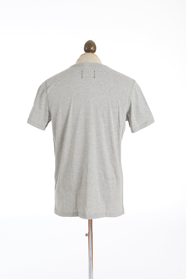 Reigning Champ Light Grey Cotton Ringspun Jersey T-Shirt