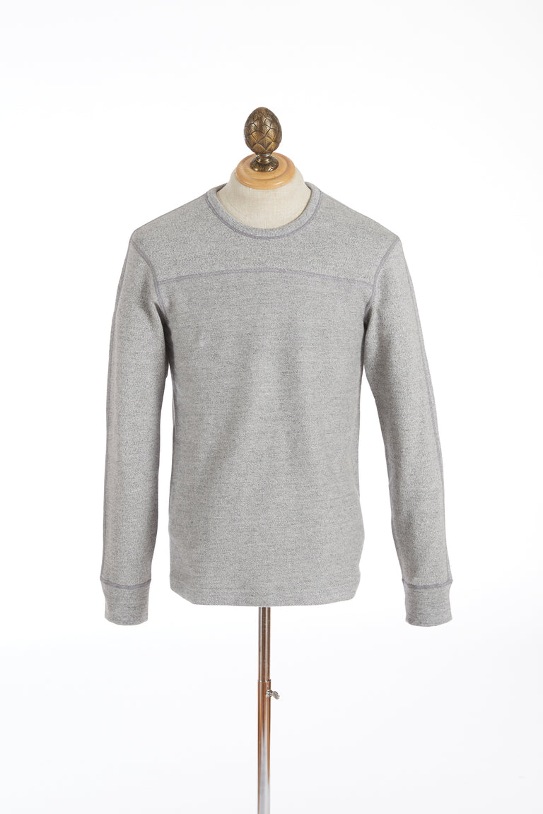 Reigning Champ Marled Grey Crewneck Sweater