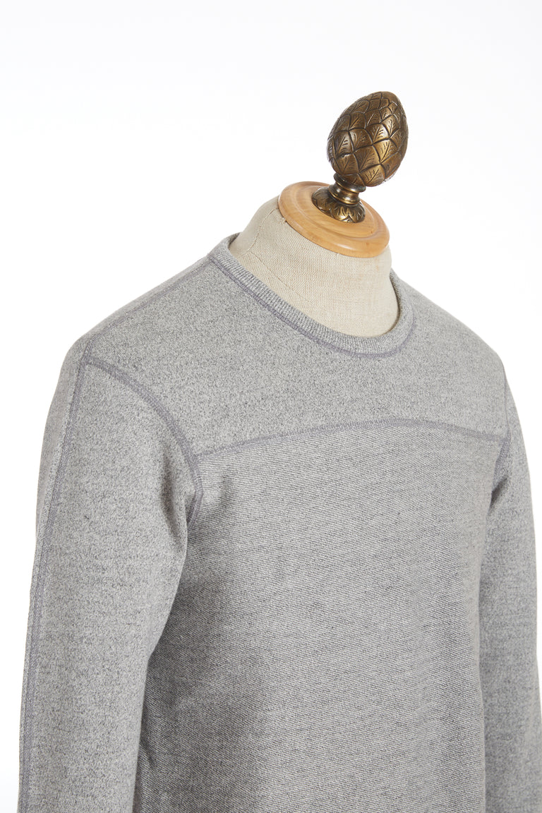 Reigning Champ Marled Grey Crewneck Sweater  RC-3490