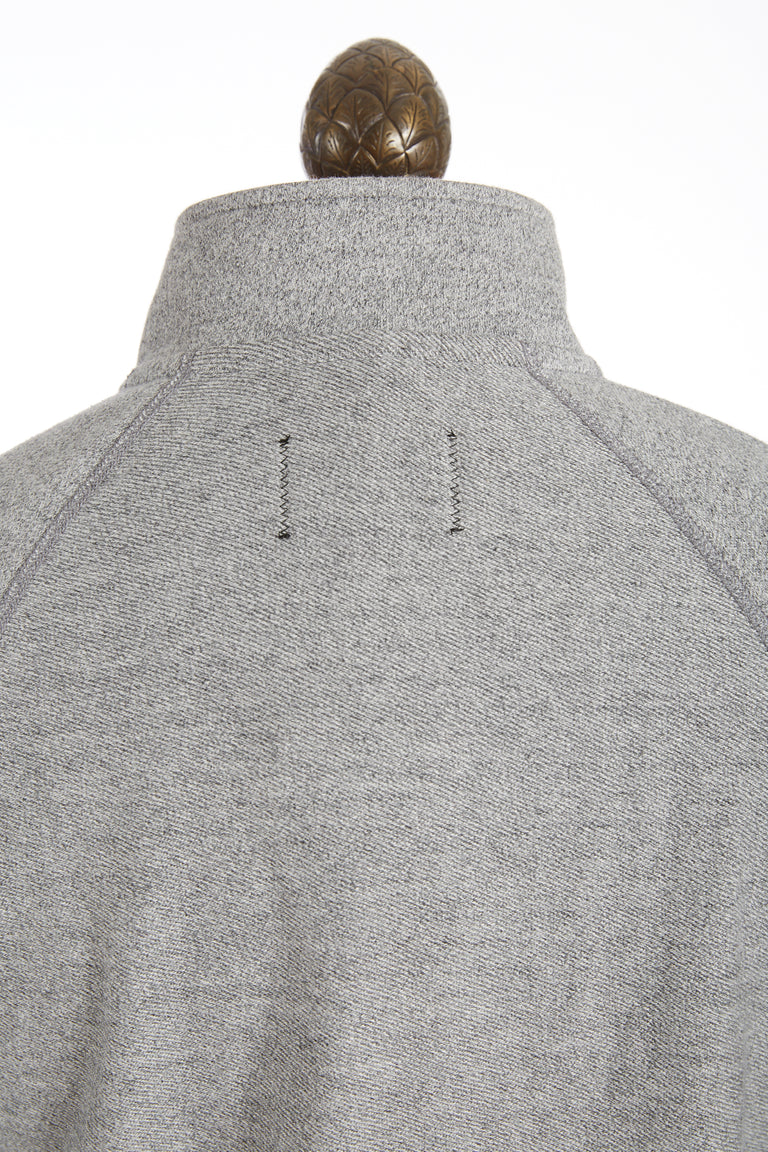 Reigning Champ Marled Grey Half Snap Pullover