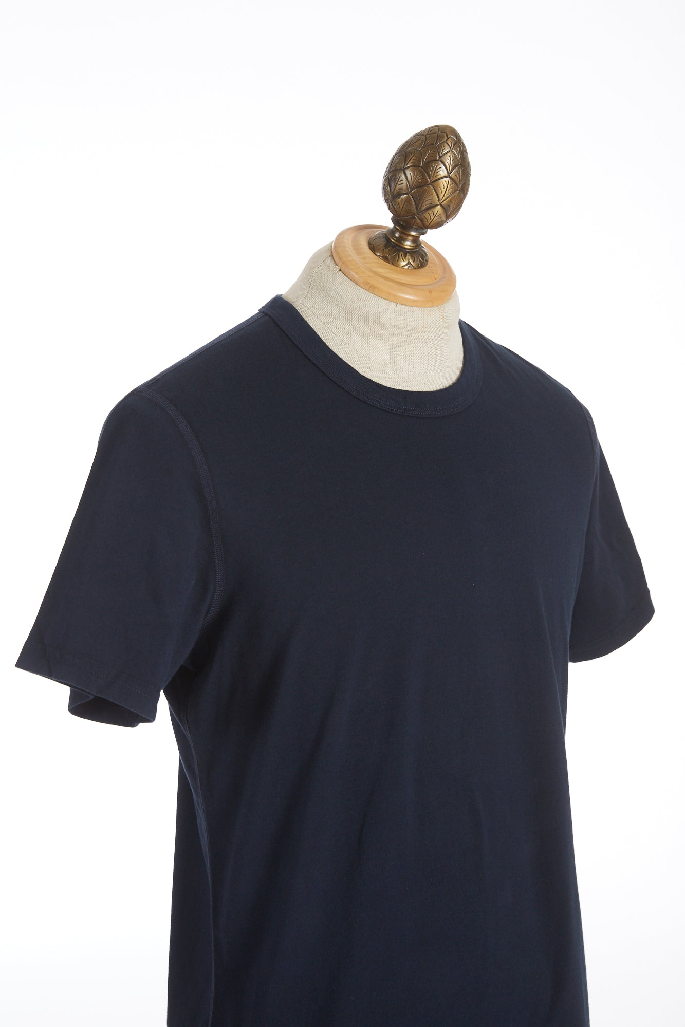 Reigning Champ Navy Blue Cotton Jersey T-Shirt