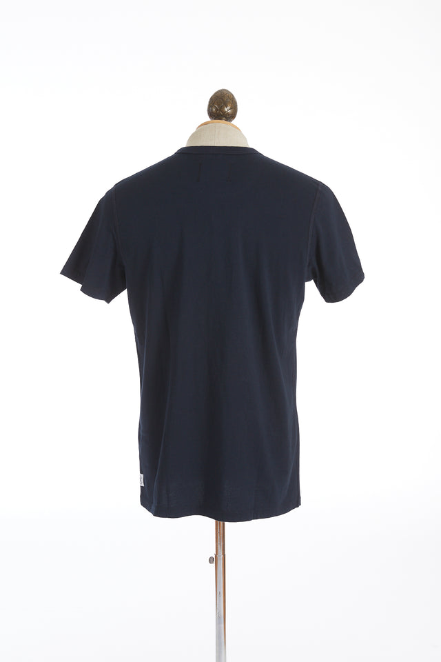 Reigning Champ Navy Cotton Ringspun Jersey T-Shirt