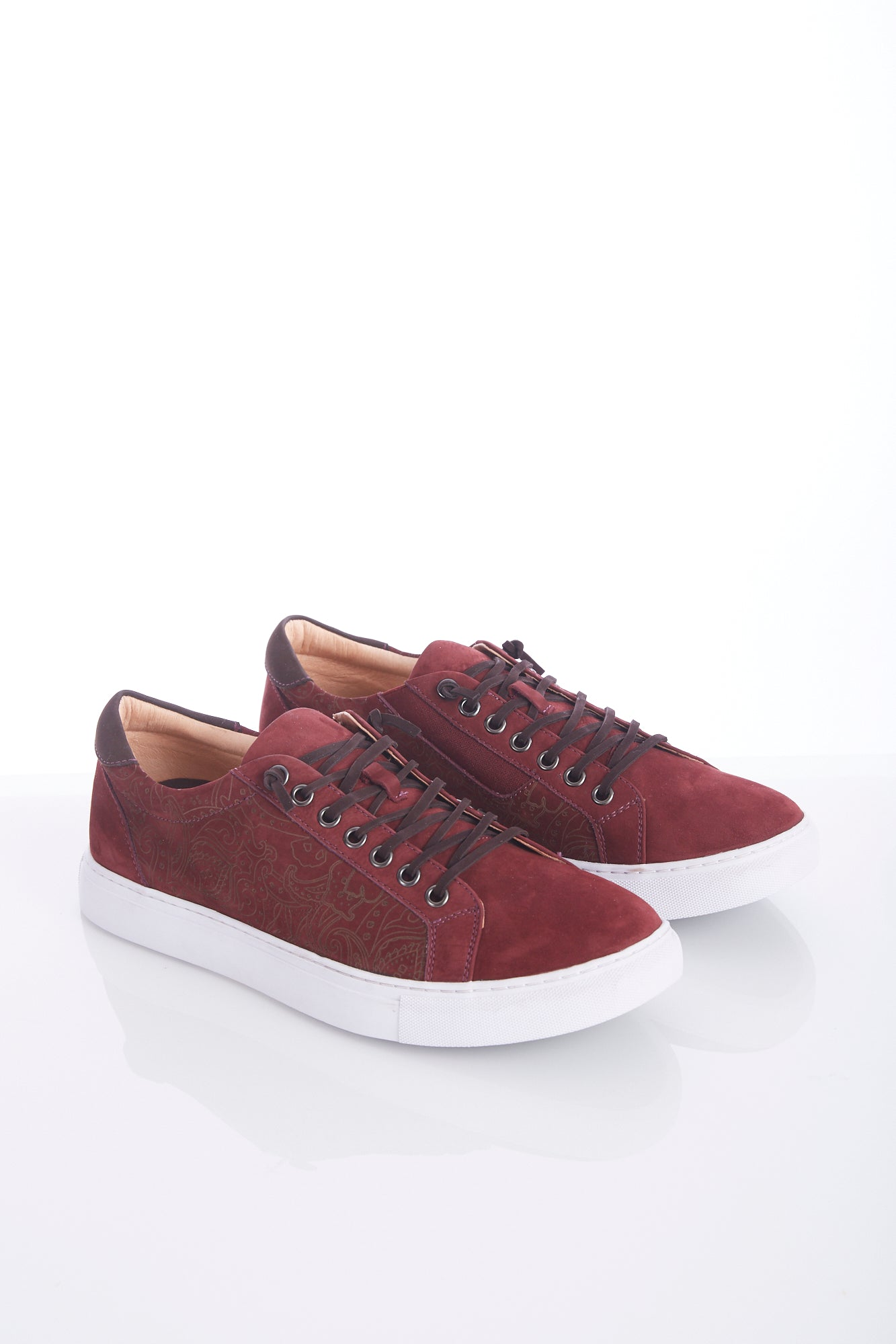 Robert Graham Red 'Lima' Sneaker