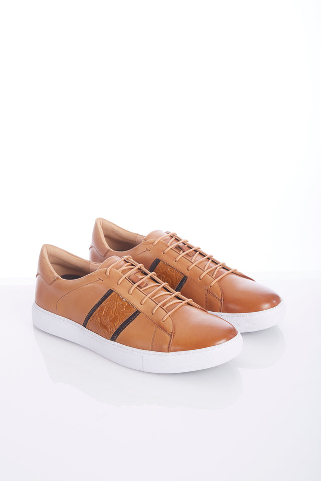 Robert Graham Tan 'Delgado' Sneaker