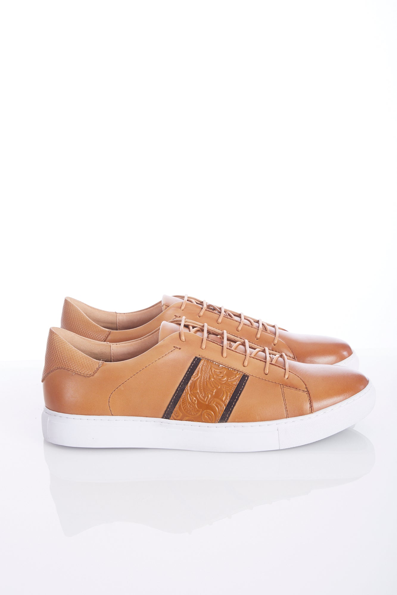 Robert Graham Tan 'Delgado' Sneaker Shoe