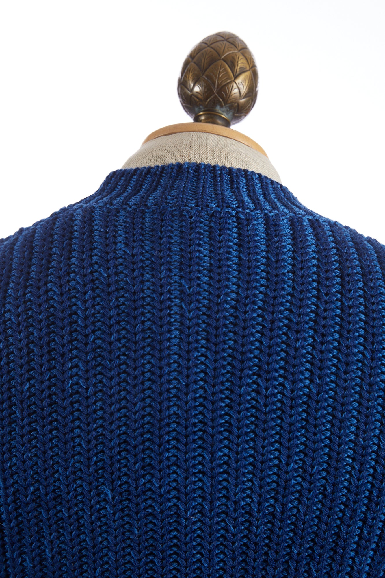 Roberto Collina Blue Cable Knit Sweater
