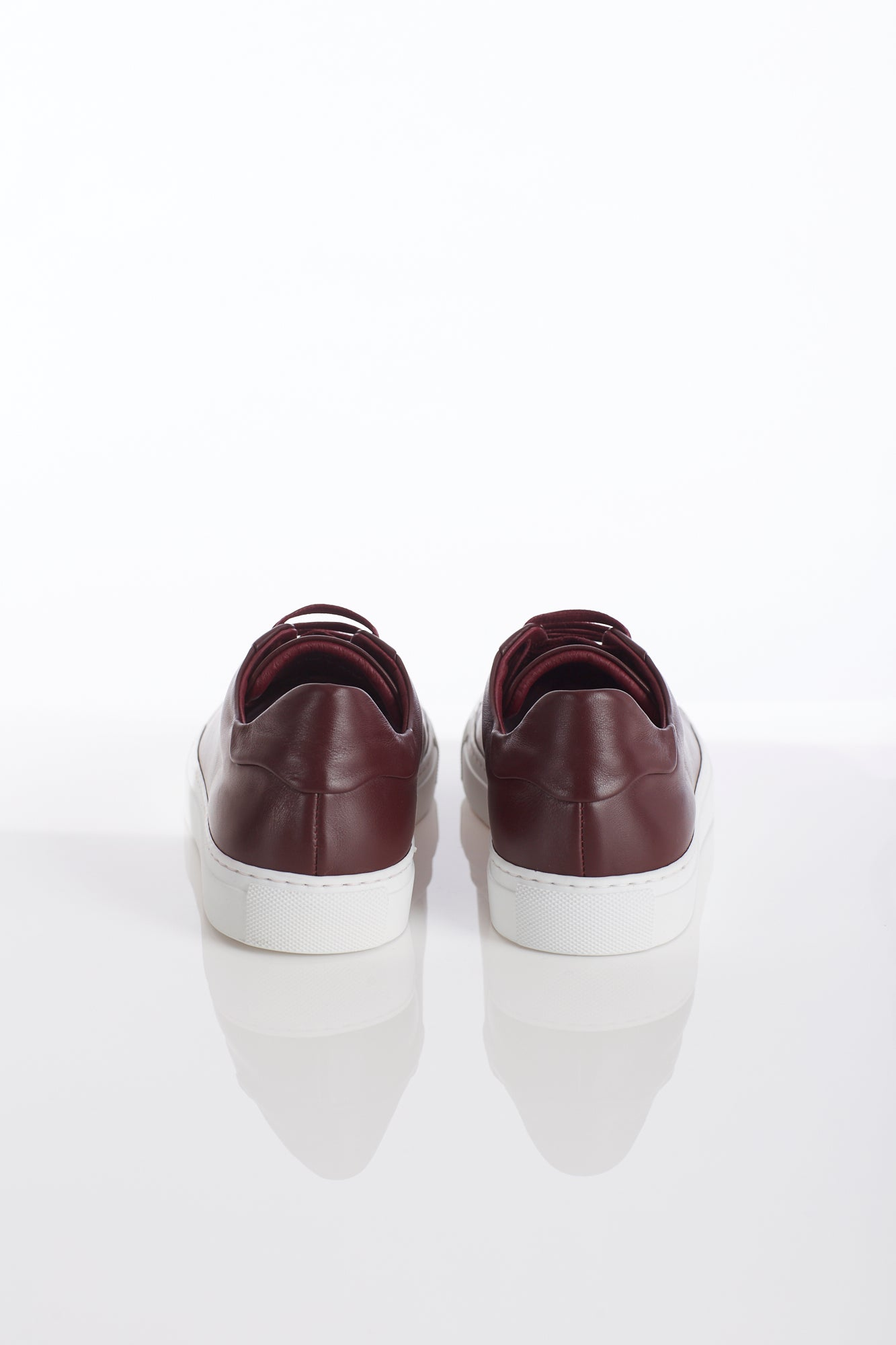 Wings+Horns Burgundy Sneakers