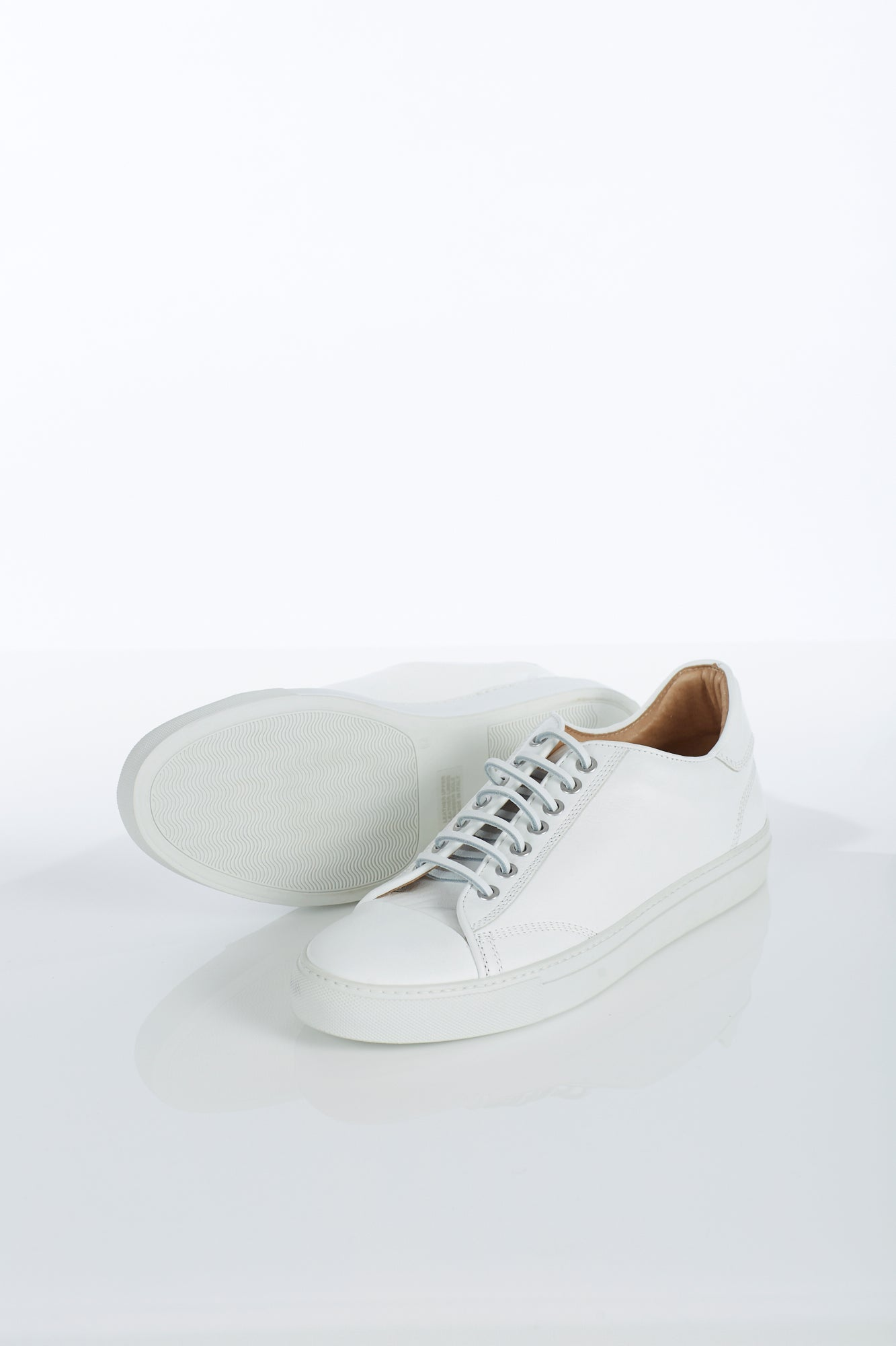 Wings + Horns Captoe White Sneaker