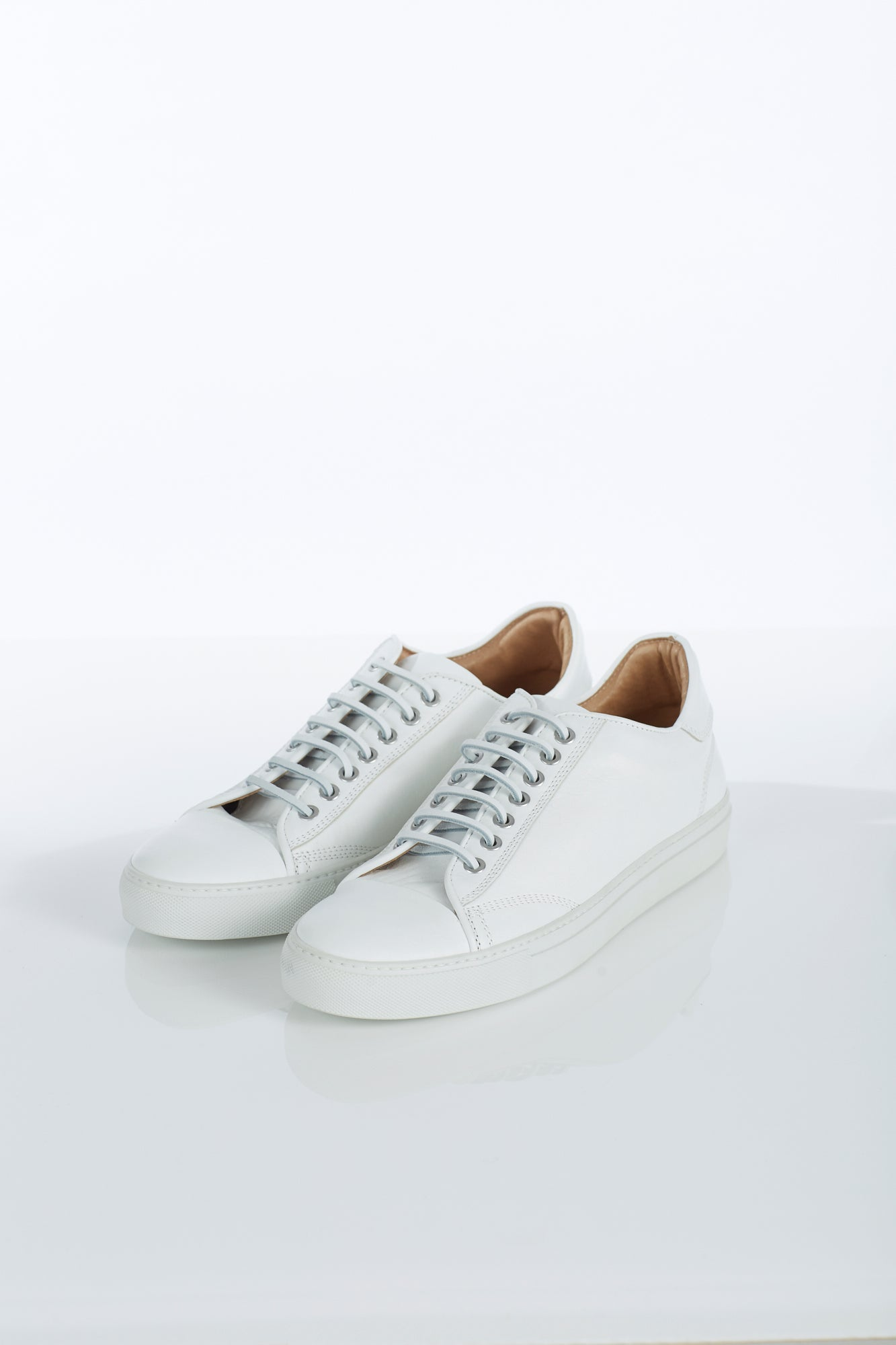 Wings + Horns Classic Low White Sneaker