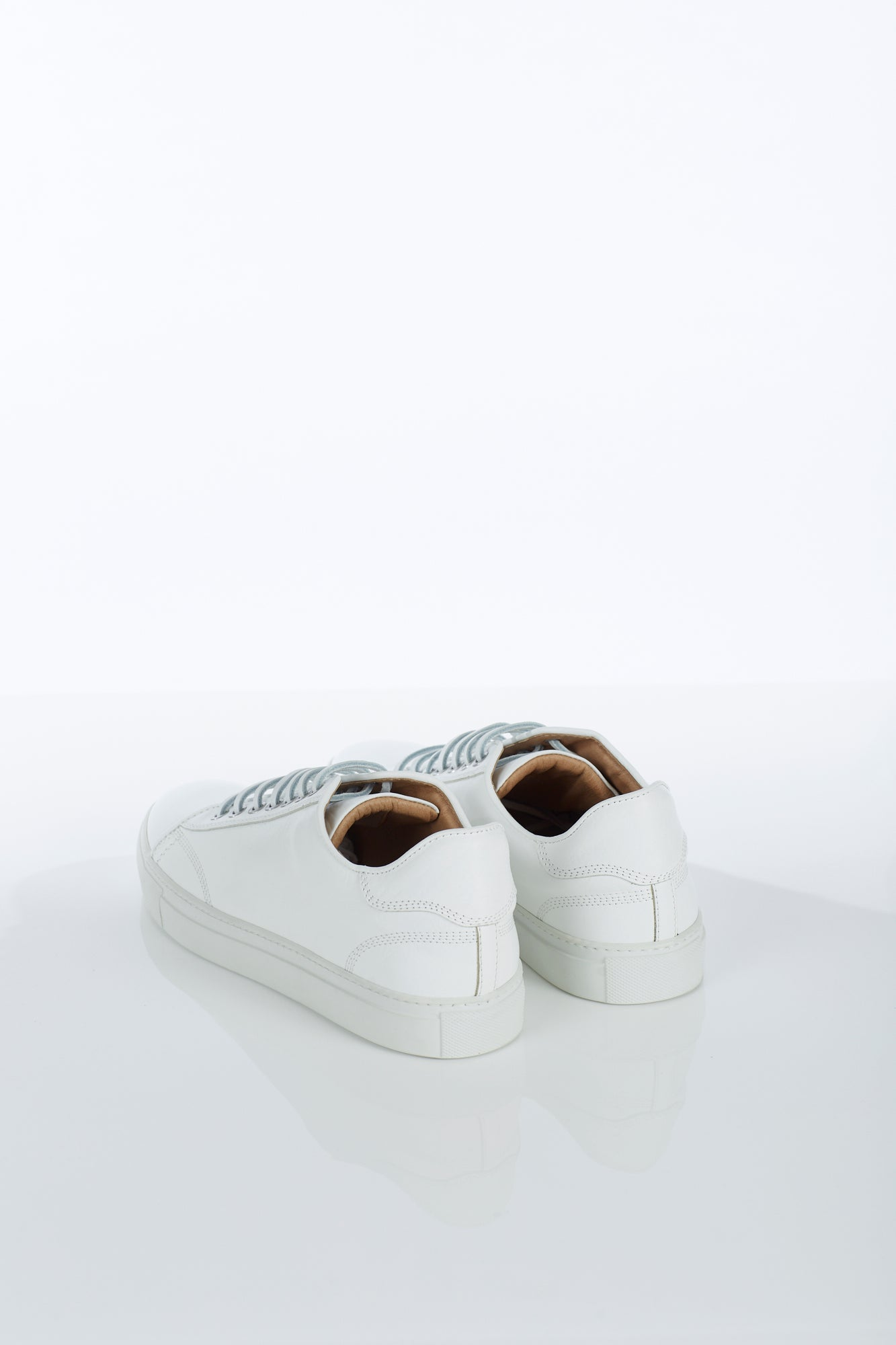 Wings + Horns Classic Low White Sneaker Back