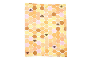 Bee and Flowers Tea Towels