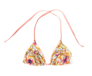 Aloha Clam Shell REVERSIBLE Triangle Bikini Top
