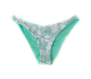 Breezy + Mint Cheeky Reversible Kai Cheeky Bikini  Bottom