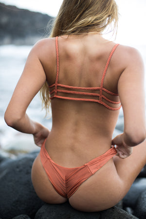 brazilian bikini bottom copper