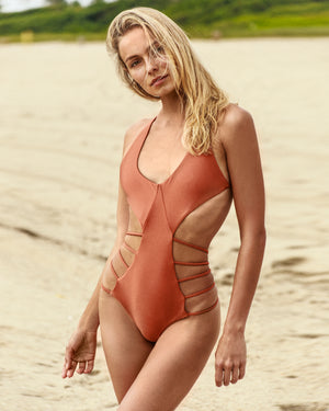 Copper Sands Eden One Piece Reversible Swimsuit