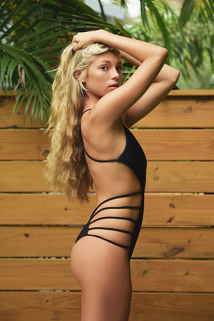 Black Eden One Piece Reversible Swimsuit