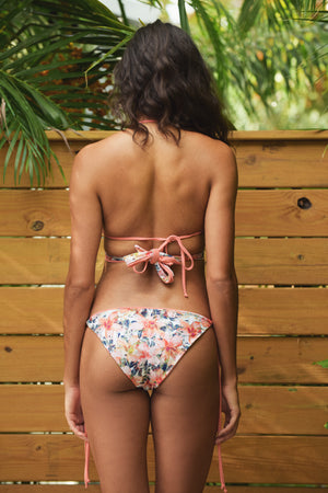 Laka Full Coverage String Bikini Bottom