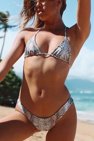 Desert Snake + Honey Cheeky Reversible Bikini Bottom