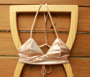 Rosie + Honey Reversible Goddess Bralette Bikini Top