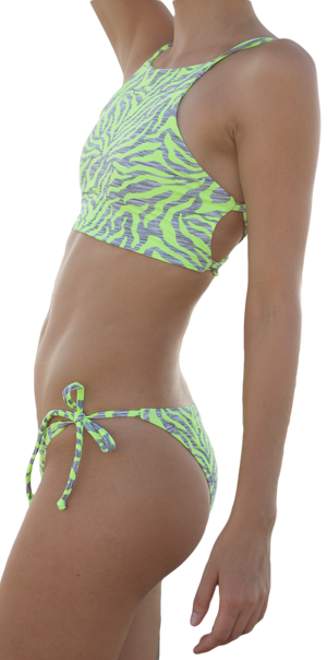 Sydney High Neck Halter Bikini Top