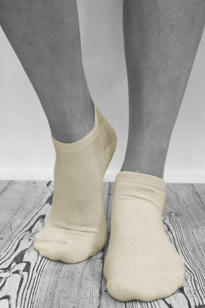 Bamboo Ankle socks size 36-41 - WSGL01-WHI