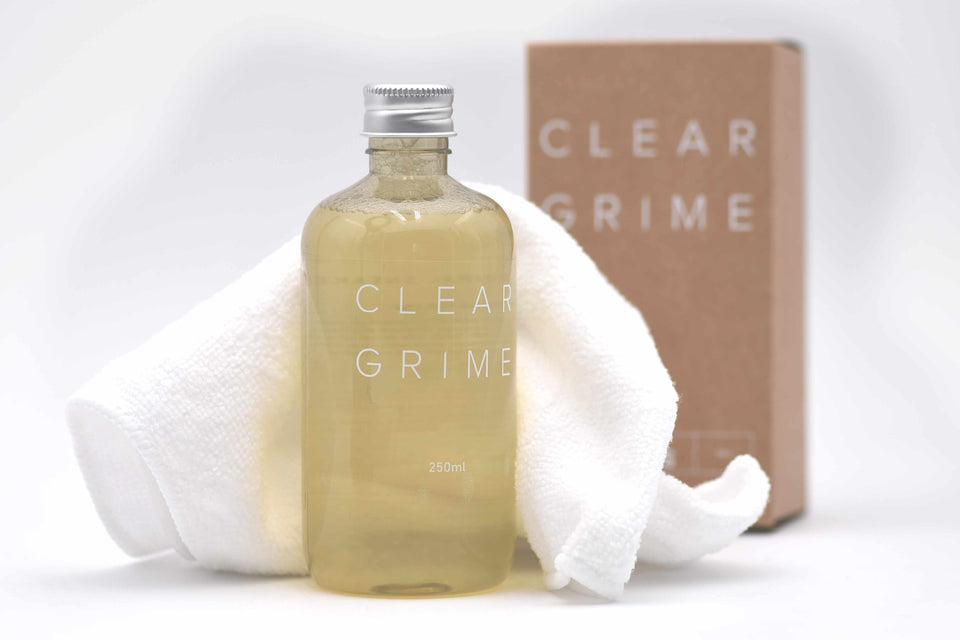 """CLEAR GRIME"""