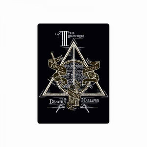 Harry Potter Metal Magnet-Deathly Hallows