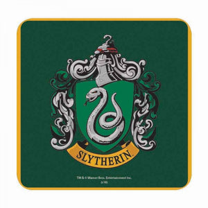Harry Potter Coaster- Slytherin Crest