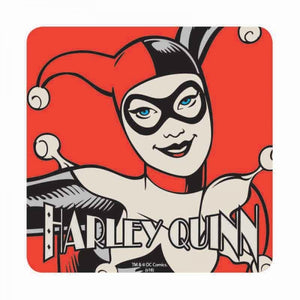 398b2623dc7df0 Batman Harley Quinn Single Coaster Drinks Mat Vintage Retro