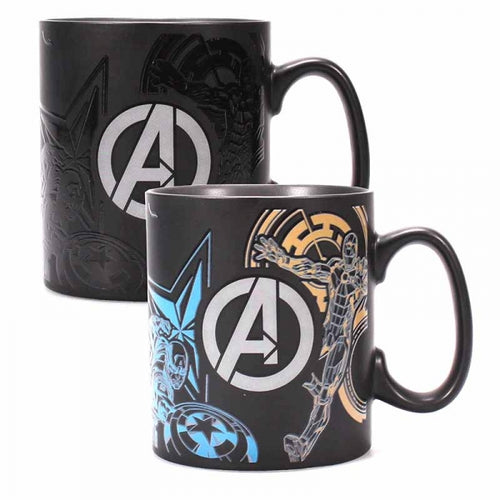 Marvel Avengers Heat Changing Mug - Krazy Gifts