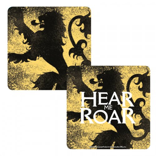 Game of Thrones Lenticular Coaster-Lannister
