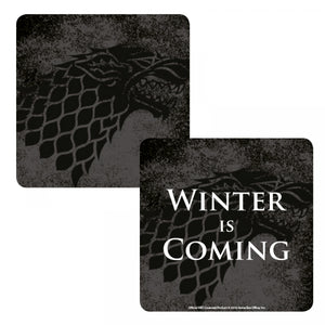 Game of Thrones Lenticular Coaster-Stark