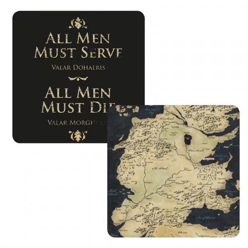 Game of Thrones Lenticular Coaster-All Men