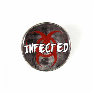 Resident Evil Pin Badge -Infected