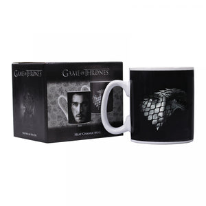 Game of Thrones Heat Changing Mug-John Snow