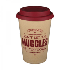 Harry Potter Travel Mug - Don't Let The Muggles Let Yo Down
