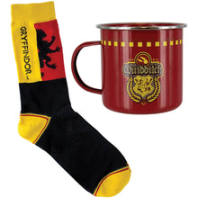 Gryffindor Quidditch Tin Mug and Socks set