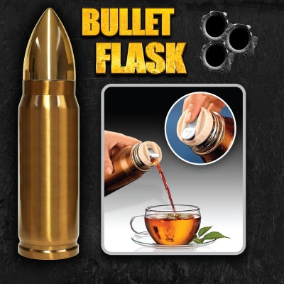 Bullet Flask - Krazy Gifts