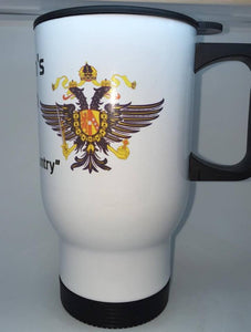 The Queen's Dragoon Guards Coffee/Travel Mug - Krazy Gifts
