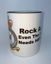 "RAF Reg Rockape ""Even The Army Needs Heros""Travel/Coffee Mug - Krazy Gifts"