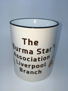 The Burma Star Association Liverpool Branch Coffee/Travel Mug - Krazy Gifts