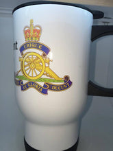 The Royal Artillery Travel/Coffee Mug - Krazy Gifts