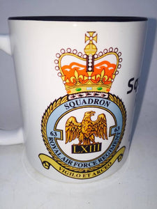 63 Squadron RAF Regiment Coffee/Travel Mugs - Krazy Gifts