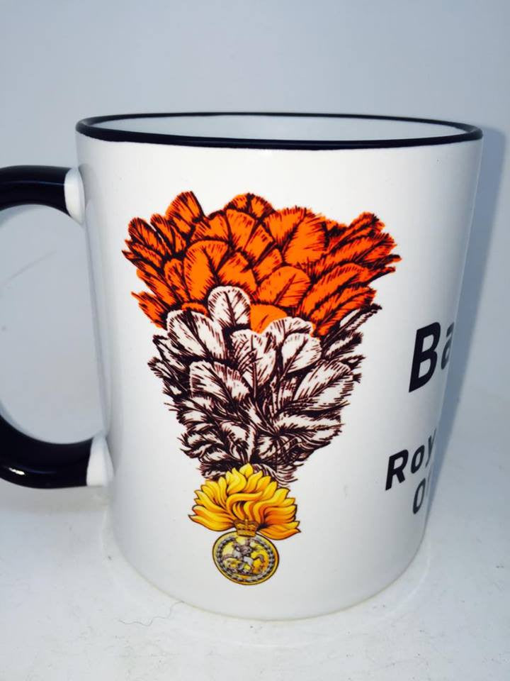 Royal Regiment Of Fusiliers Coffee/Travel Mug - Krazy Gifts