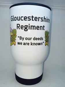 Gloucestershire Regiment Coffee/Travel Mug - Krazy Gifts