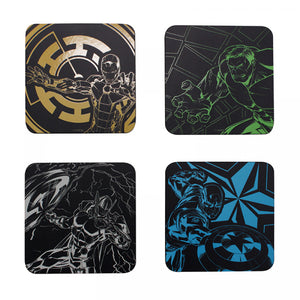 Marvel Avengers Coasters Set of 4-Team