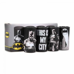 Batman Mini Glasses (Set of 4) Pose